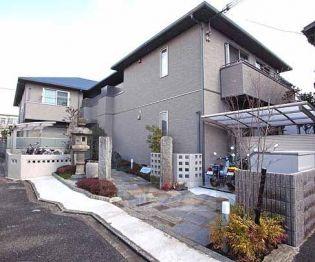 京都府京都市伏見区深草枯木町の賃貸アパートの外観