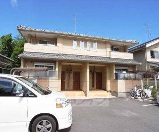 京都府京都市伏見区桃山町下野の賃貸アパートの外観