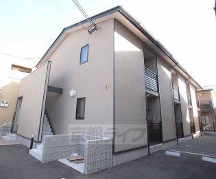 京都府京都市伏見区向島橋詰町の賃貸アパート