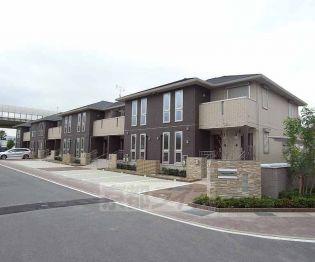 京都府久世郡久御山町市田鈴間の賃貸アパートの画像