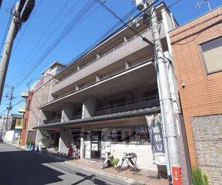 京都府京都市中京区西ノ京池ノ内町の賃貸マンションの外観