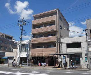 京都府京都市右京区西院小米町の賃貸マンションの外観