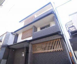 京都府京都市下京区卜味金仏町の賃貸マンションの外観