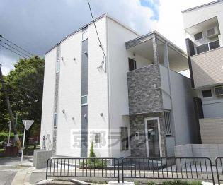 京都府京都市山科区大宅関生町の賃貸アパート