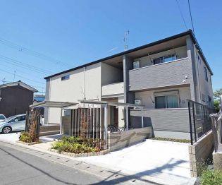 京都府京都市伏見区向島吹田河原町の賃貸アパートの外観