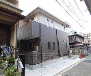 京都府京都市伏見区深草芳永町の賃貸アパートの外観