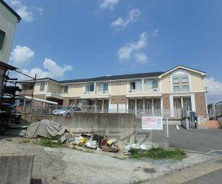 京都府亀岡市篠町野条イカノ辻北の賃貸アパート
