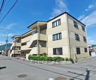 京都府亀岡市古世町3丁目の賃貸マンションの外観