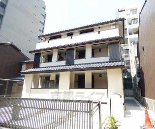 京都府京都市上京区主税町の賃貸アパートの外観
