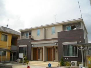 兵庫県神戸市北区藤原台中町4丁目の賃貸アパートの外観