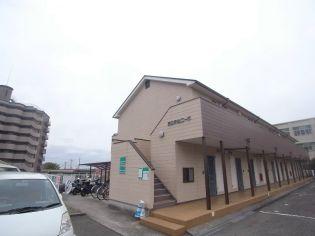 第二赤松コーポ[2階]の外観