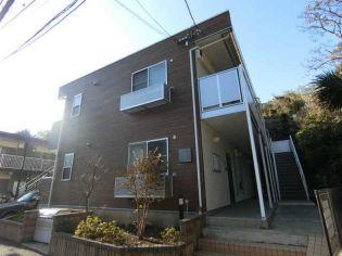 神奈川県鎌倉市極楽寺1丁目の賃貸アパートの外観