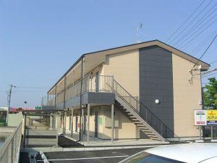 滋賀県東近江市五個荘清水鼻町の賃貸アパート