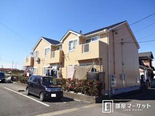 愛知県豊田市中町浜居場の賃貸アパートの外観