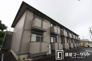 愛知県豊田市桝塚西町北郷の賃貸アパートの外観