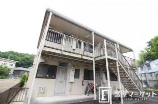 愛知県豊田市平和町3丁目の賃貸アパートの外観