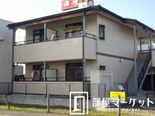 愛知県豊田市十塚町4丁目の賃貸アパートの外観