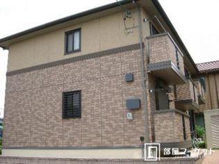 愛知県岡崎市中町字東丸根の賃貸アパートの外観