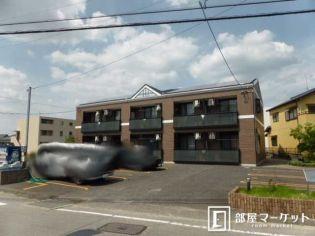 1K・藤川 徒歩17分・駐車場あり・フローリングの賃貸