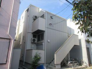 愛知県名古屋市北区大杉町6丁目の賃貸アパートの外観