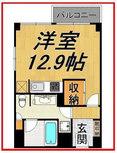 ミュプレ矢場町 6階の賃貸【愛知県 / 名古屋市中区】