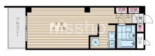 7724-メゾンプルニエ[402号室]の間取り