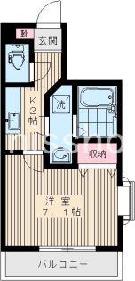 5216−ルクレール新高円寺[301号室]の間取り