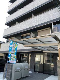 京都府京都市右京区梅津神田町の賃貸マンションの外観