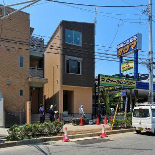 千葉県市川市南行徳3丁目の賃貸アパートの外観