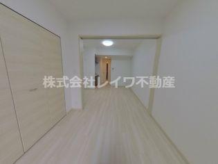 スプランディッド難波元町のコンパクトで使いやすい洋室です
