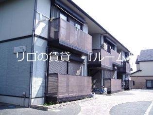 福岡県春日市一の谷1丁目の賃貸アパートの外観