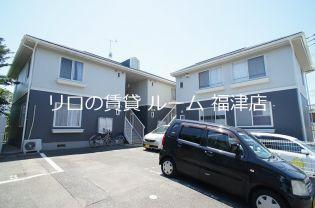 福岡県古賀市久保の賃貸アパートの画像
