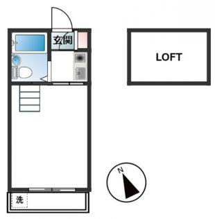 FLAT新宿[106号室]の間取り