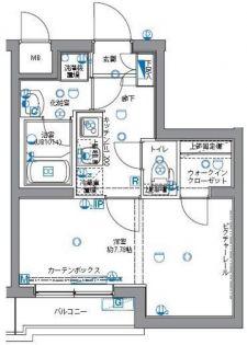 パティーナ志村坂上[4階]の間取り