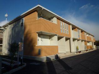 大阪府三島郡島本町桜井台の賃貸アパート