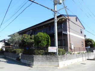 大阪府松原市若林1丁目の賃貸アパートの外観