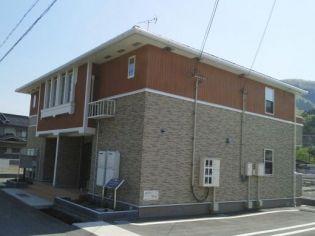兵庫県宍粟市山崎町加生の賃貸アパート