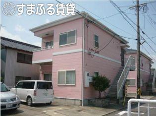 愛知県岡崎市筒針町字池田の賃貸アパート