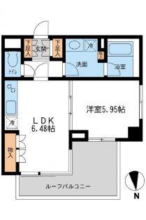 レジデンス白金コローレ[3階]の間取り