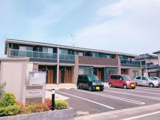 鹿児島県薩摩川内市原田町の賃貸アパートの外観