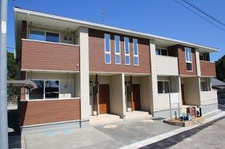 鹿児島県薩摩川内市高城町の賃貸アパートの外観