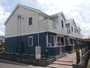 鹿児島県薩摩川内市東大小路町の賃貸アパートの外観