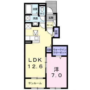 鹿児島県南さつま市加世田村原5丁目の賃貸アパート