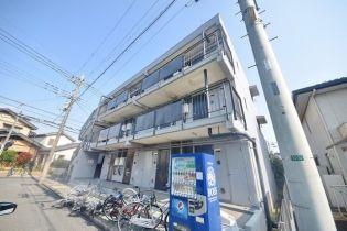 埼玉県坂戸市関間1丁目の賃貸マンションの外観