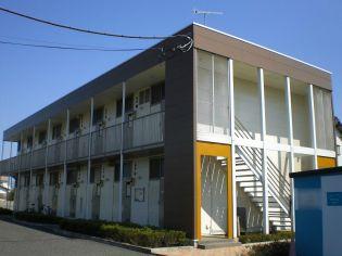 埼玉県深谷市西大沼の賃貸アパートの外観