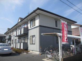 埼玉県北本市西高尾5丁目の賃貸アパートの外観