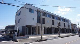 埼玉県坂戸市花影町の賃貸アパートの外観