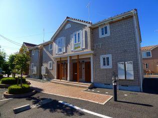 群馬県太田市西新町の賃貸アパートの外観