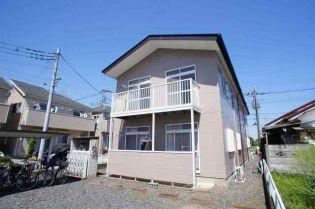 埼玉県上尾市大字西門前の賃貸アパートの外観