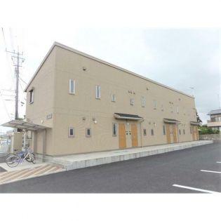 埼玉県熊谷市中西3丁目の賃貸アパート